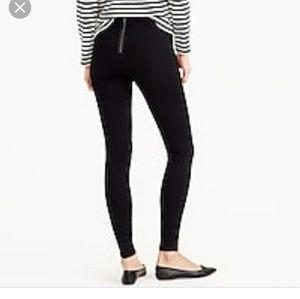 J CREW pixie pants size 16 BLACK
